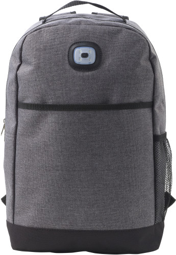 Polyester (300D + 210D) backpack with light