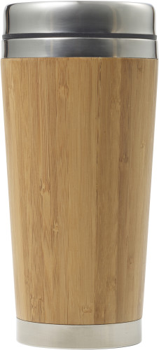 Bamboo thermos travel cup (400 ml)