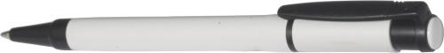 Stilolinea penn i plast med hvit kropp