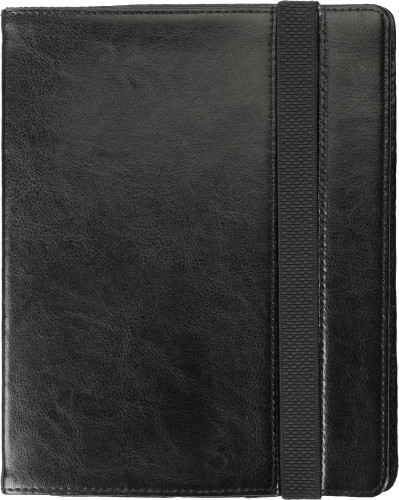 iPad fodral i svart läder