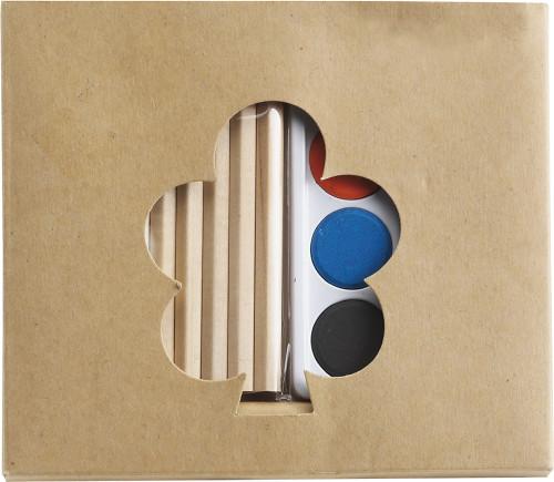 Cardboard art set
