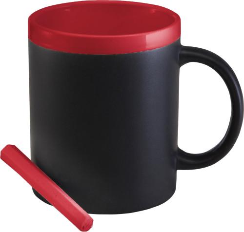 Kopp i stengods med kritt (300 ml)