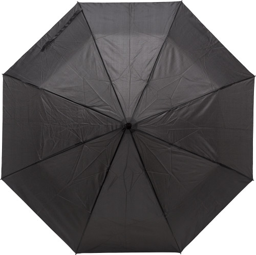 Foldable Pongee (190T) umbrella and bag