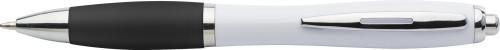 Kulspetspenna med färgat gummigrepp