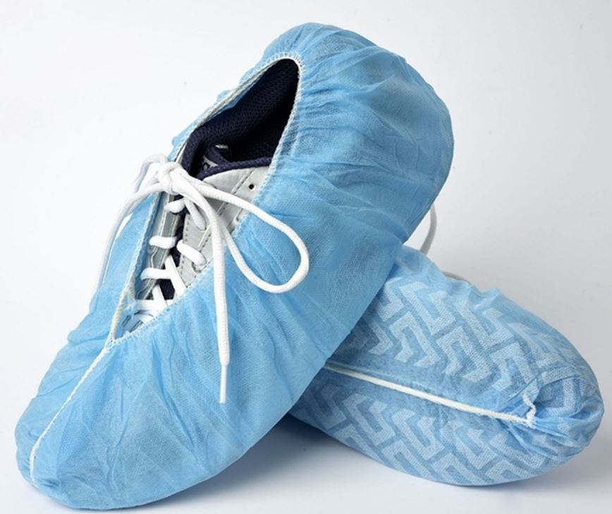 Disposable anti-slip shoe cover