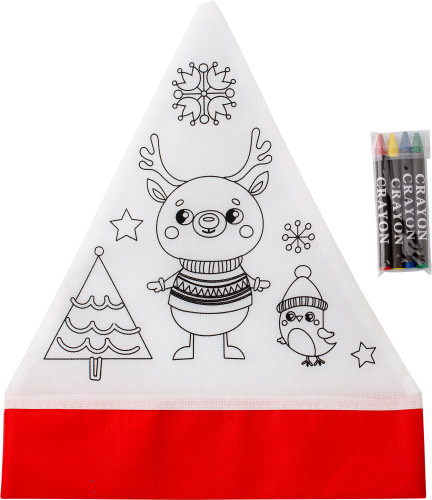 Nonwoven (80 gr/m²) Christmas hat