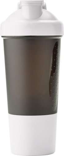 Proteinshaker i plast (500 ml)