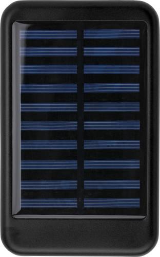 Aluminium solar power bank
