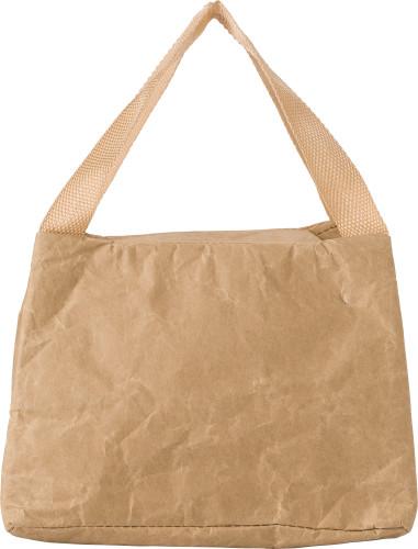 Kraft paper cooler bag