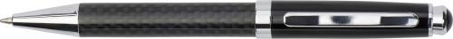 Kulepenn med karbonfibermønster