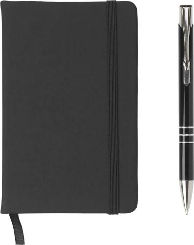 Anteckningsblock med penna (ca A6)