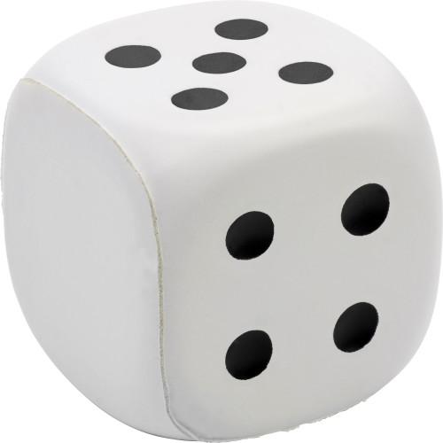PU foam dice with dots