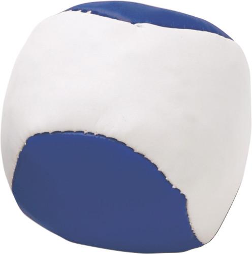 Imitation leather juggling ball