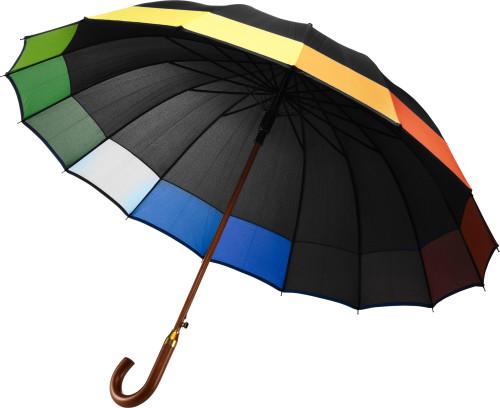Klassisk cityparaply, automatisk åpning