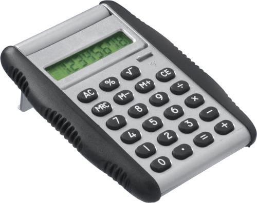 Mini kalkulator med gummisider