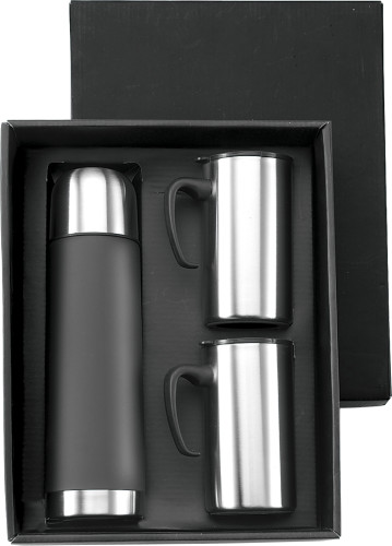 Stainless steel double walled flask