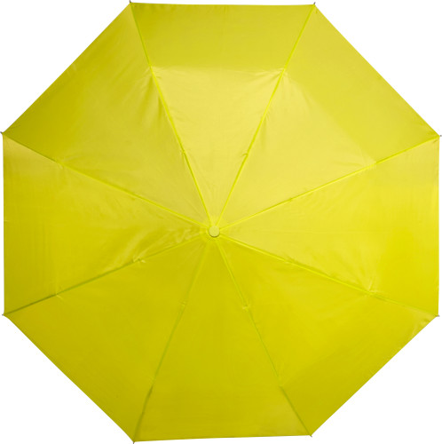 Sammenleggbar kompakt paraply av pongee (190T), manuell åpning