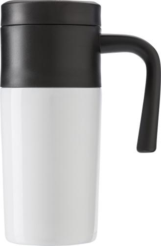 Kopp (330 ml) med lokk og håndtak i PP