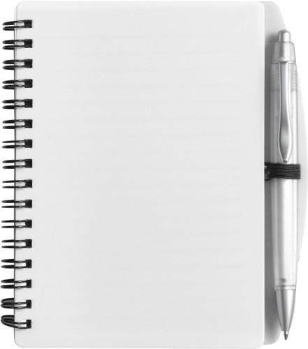 Anteckningsblock A6 med penna