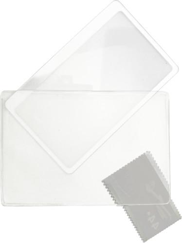 Förstoringsglas i PVC