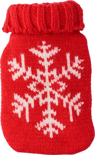 Värmedyna med vinter-/julmönster