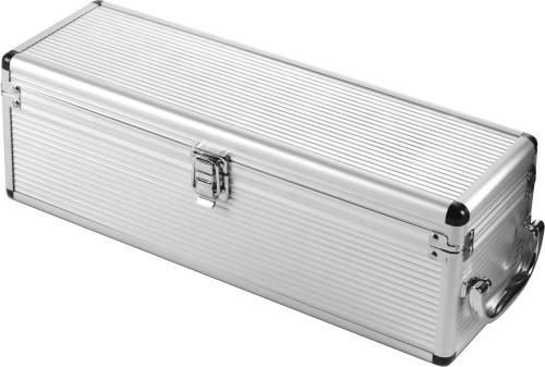 Vinset i presentbox av aluminium