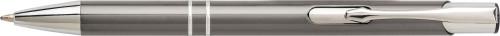 Kulepenn i aluminum med UV-lakk