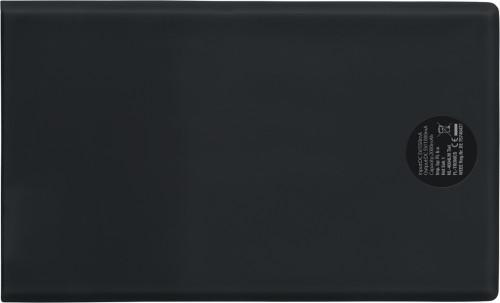 Powebank i ABS, på størelse med kredittkort, 2000 mAh