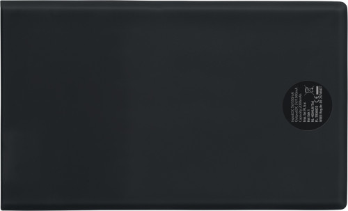 Powerbank i ABS, i storlek som kreditkort, 2000 mAh