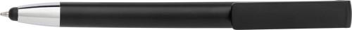 Kulspetspenna i ABS med hållare för telefonen