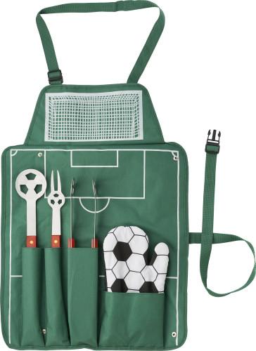 BBQ-set 'Fotball', 5 deler