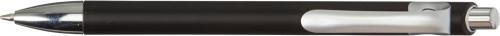 Kulepenn med metallic-look