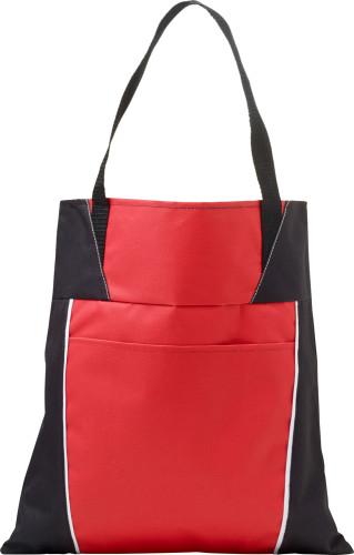 Väska/kasse i polyester med korta handtag, i polyester (600D)