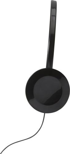 Høretelefoner i plast
