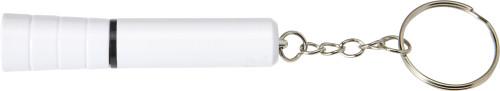 Nyckelring i ABS med LED-lampa