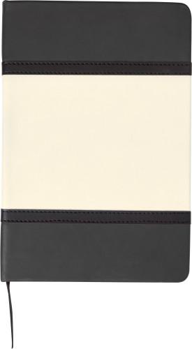 Anteckningsbok A5 med soft PU-omslag