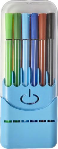 12 stk vannbaserte filtpenner