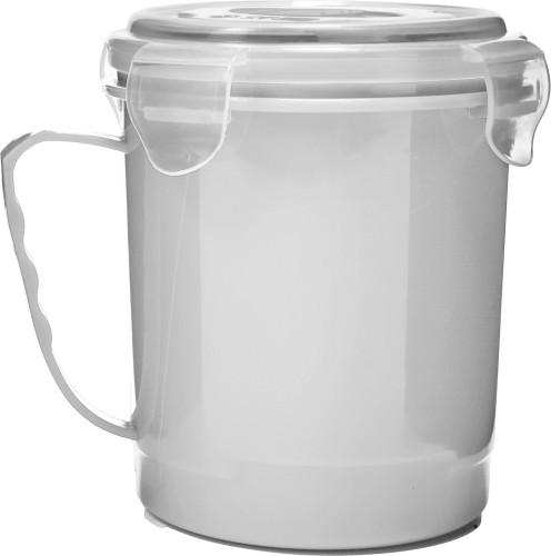 Kopp for microbølgeovn i plast (720 ml)