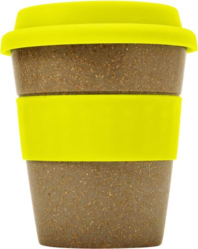 To-go mugg i bambu med silikonlock (350 ml)