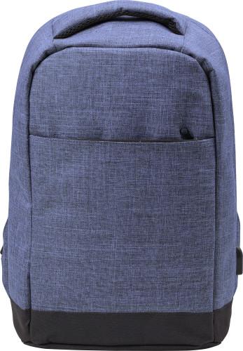 Anti-stöld ryggsäck i polyester (600D)