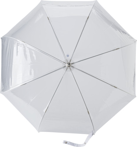 Paraply PVC med 8 paneler, automatisk åpning
