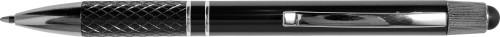 Kulepenn i aluminium med twistfunksjon