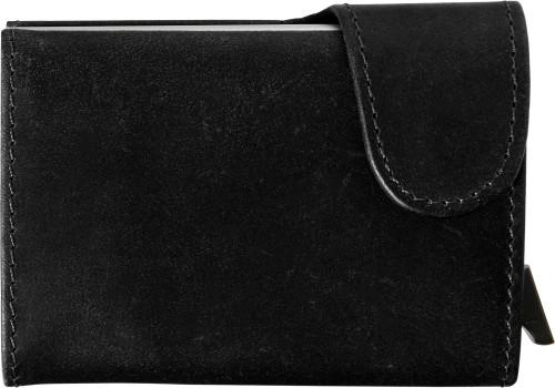 Plånbok i läder med RFID korthållare