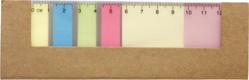 Cardboard sticky note holder