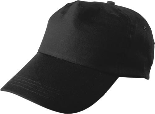 Caps med 5 paneler, bomullstwill