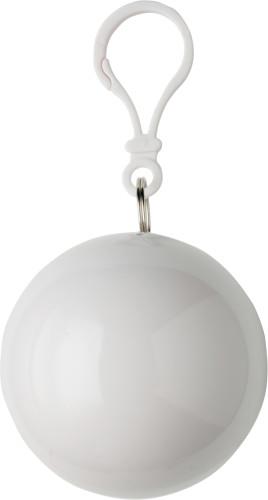 Regnponcho i plastboll