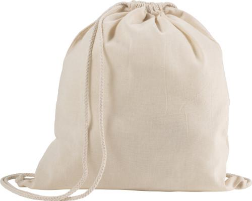 Gympapåse/Ryggsäck i bomull (120 g)