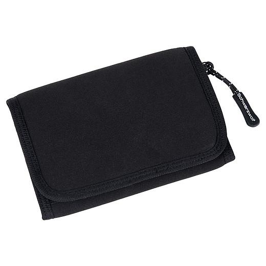 Schwarzwolf Coin Black plånbok i neopren